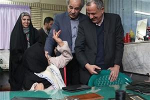 بازدید مسجد جامعی  از آسایشگاه کهریزک و پیشنهاد راهاندازی مرکز تئاتر معلولان/عکس