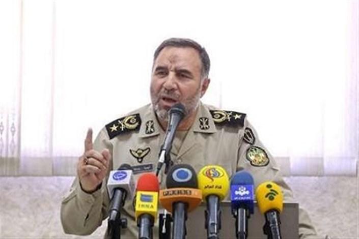 حیدری: سربازان ارتش تمامی تهدیدهای دشمنان را رصد و خنثی می کنند