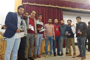 کسب مقام اول دهمین دوره مسابقات کشوری سازه های ماکارونی توسط  دانشگاه آزاد اسلامی واحد اسلامشهر