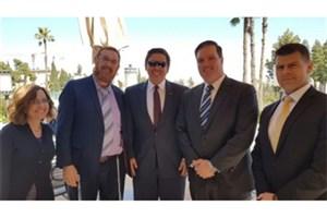 دیدار هیاتی از کنگره آمریکا با مقام های صهیونیستی برای انتقال سفارت آمریکا به بیت المقدس