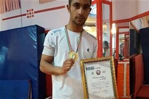 کسب مقام قهرمانی مسابقات بوکس دانشجویان کشور توسط دانشجوی سما زاهدان