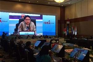 آغاز نشست وزرای خارجه سازمان کشورهای حاشیه اقیانوس هند در جاکارتا با حضور عراقچی