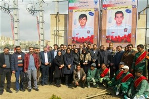 برگزاری دومین جشنواره یادمان سبز شهدا در دانشگاه آزاد اسلامی واحد پردیس