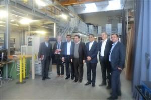 بازدید دبیرکلشورای عالی علوم تحقیقات و فناوری از لابراتوارهای دپارتمان انرژی موسسه فناوری اتریش