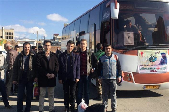 اعزام دانشجویان واحد صوفیان