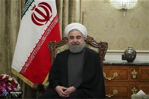روحانی:مسایل و مشکلات با حرف و شعار حل نمیشود/افراط، تفریط و خشونت نتوانسته باعث خوشبختی هیچ ملتی شود