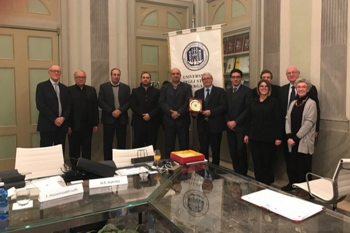 Central Tehran IAU Signs MoU with University of Bergamo