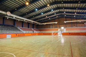 برگزاری بازی تیم ملی فوتسال ایران و عراق در ورزشگاه پوریای ولی دانشگاه آزاد شیراز