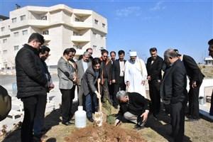 اجرای کشوری طرح «یاد سبز شهدا» با درختکاری به یاد شهدای انقلاب اسلامی در واحد بوکان برگزار شد