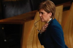 دفاع قاطعانه استورجن از استقلال اسکاتلند در سیلیکونولی