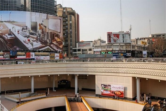 پروژه زیرزمینی میدان ولیعصر افتتاح شد