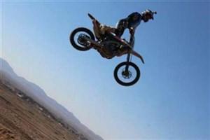 مسابقه موتورسواری قهرمانی خراسان جنوبی در قاین برگزار شد