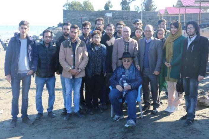 بازدید آموزشی از پشت صحنه فیلم در دست ساخت بهمن فرمان آرا