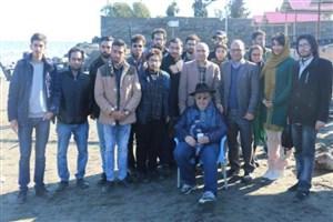 بازدید آموزشی از پشت صحنه اثر در دست ساخت بهمن فرمان آرا