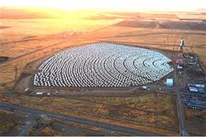 مزرعه هایی در کویر برای تامین انرژی و کنترل ریزگردها