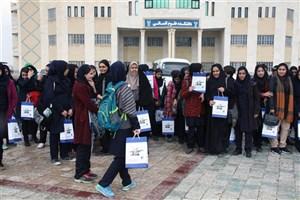 بازدید بیش از80نفر دانشآموز سما از مجموعه های ورزشی وآزمایشگاهی دانشگاه آزاد اسلامی واحد اراک