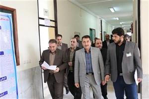 برگزاری آزمون نظام مهندسی شرق گلستان در واحد آزادشهر