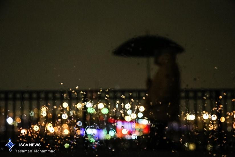 تهران بارانی
