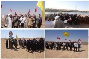 اعزام دانشجویان دانشگاه آزاد اسلامی واحد اندیمشک به منطقه عملیاتی فکه