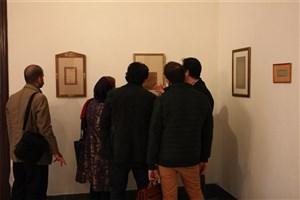 آثار خوشنویسان ایرانی دوره قاجار به نمایش در آمد