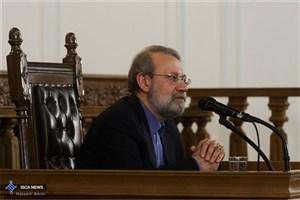 لاریجانی:  برنامه های توسعه از نگاه مجلس باید مدون و نظارت پذیر باشد