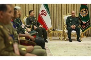 دیدار مسئولین کشورهای آسیایی عضو سیزم با وزیر دفاع