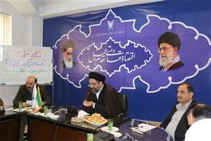 """برگزاری نشست هم اندیشی تحت عنوان"""" توسعه معنویت گرایی و تربیت دینی دردانشگاه آزاد اسلامی واحد لاهیجان"""""""