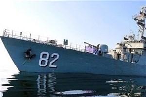 ناوگروه 45 نیروی دریایی ارتش در بندر صلاله عمان پهلو گرفت