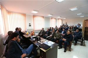 افتتاح مدیریت مرکز رشد و تحقیقات فناوری های نوین شهید دکتر حسن طهرانی مقدم