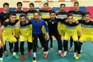 مقام سومی واحد مبارکه در مسابقات فوتسال دانشجویان دانشگاه آزاد اسلامی استان اصفهان