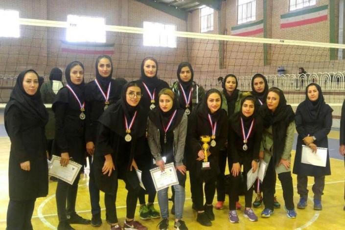 تیم والیبال دختران واحد مبارکه