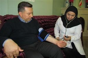 طرح بررسی سلامت کارکنان واحد بناب اجرا شد