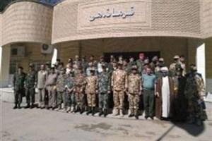 بازدید وابستگان نظامی سفارت 24 کشور از مناطق عملیاتی خوزستان