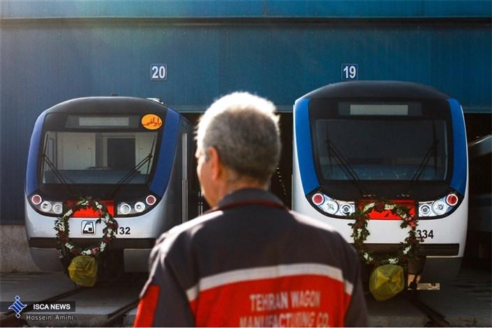 آیین بهره برداری از 65 دستگاه واگن مترو با حضور دکتر قالیباف