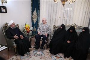 رئیس جمهوری: جمهوری اسلامی با رهبری امام (ره)، فداکاری شهدا، جانبازان و مردم بر همه سختی ها پیروز شد