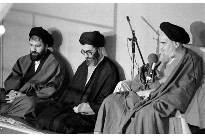 امام و خمینی خامنه ای احمد خمینی
