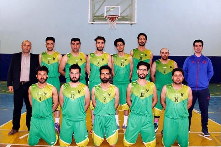 بسکتبال دانشگاه آزاد اسلامی سبزوار
