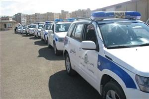مانور آغاز ستاد خدمات سفر نوروز 96 استان اردبیل اجرا شد