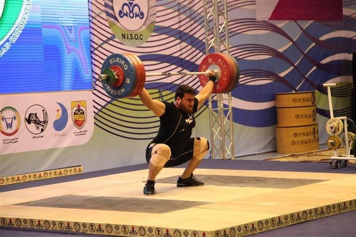 Karaj IAU Student Runner-Up in 2nd Int'l Fajr Weightlifting Cup