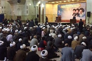 مراسم بزرگداشت حاج احمد خمینی در حرم مطهر امام (ره) برگزار شد