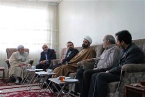 دیدار هیأت رییسه دانشگاه آزاد اسلامی واحد اراک با خانواده معظم شهید صالحی