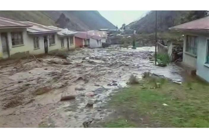 خسارات سیل در پرو