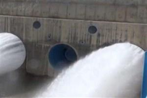 رهاسازی آب از سدهای آذربایجانغربی به سمت دریاچه ارومیه