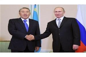 گفتگوی تلفنی پوتین و نظربایف درباره سوریه
