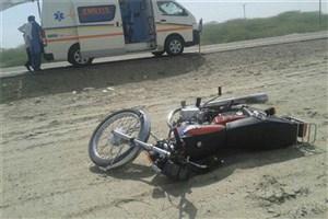 تصادف مرگبار موتور سوار ۴۵ ساله در بلوار حقانی
