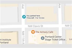 سرویس نقشه گوگل حالا محل پارک خودرو را یادآوری میکند