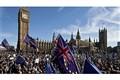 تظاهرات حامیان اتحادیه اروپا در شهر لندن