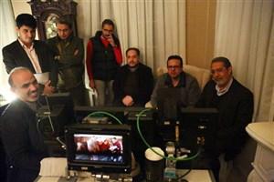 بازدید مدیر شبکه سوم سیما از پشت صحنه «دیوار به دیوار»