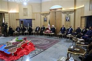 رئیس جمهوری:  ایران و روسیه در مسائل منطقه ای و بین المللی به ویژه مبارزه با تروریسم دیدگاه نزدیک به هم دارند