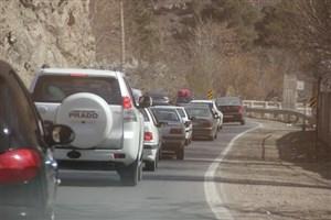 وضعیت جاده چالوس در تعطیلات پایانی نوروز 96